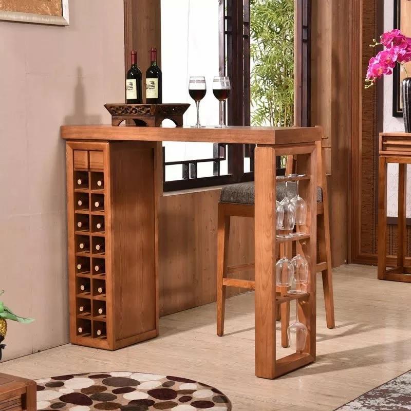 Cave à vin sous le comptoir