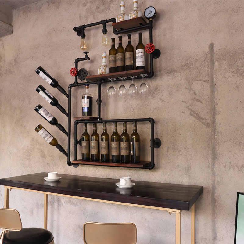 Casier à vin style loft